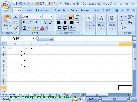 Ediblewildsus  Wonderful Read And Import Excel File Into Dataset Or Datatable With Foxy Csharpexceloledbselect With Enchanting Excel Freeze Top Row Also Turn Off Compatibility Mode Excel In Addition Excel How To Split Cells And Sample Excel Spreadsheet As Well As Excel Formula Subtract Additionally Excel Address From Csharpnetinformationscom With Ediblewildsus  Foxy Read And Import Excel File Into Dataset Or Datatable With Enchanting Csharpexceloledbselect And Wonderful Excel Freeze Top Row Also Turn Off Compatibility Mode Excel In Addition Excel How To Split Cells From Csharpnetinformationscom