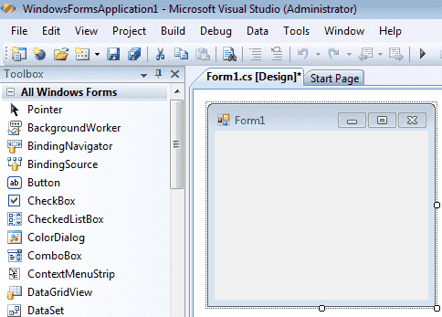 C# Graphical User Interface Tutorial