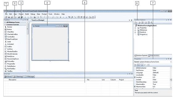 C# Visual Studio IDE